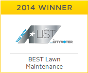 2014 A-List Winner - Best Lawn Maintenance
