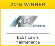 2016 A-List Winner - Best Lawn Maintenance