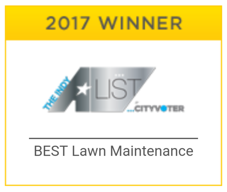 2017 A-List Winner - Best Lawn Maintenance